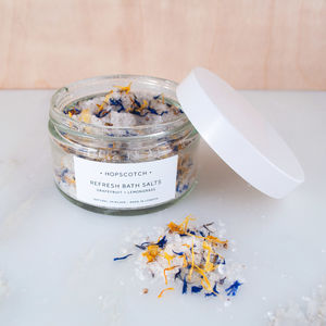 Refresh All Natural Bath Salts - bathroom
