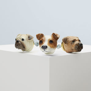 Pampered Pooches Doorknob Collection