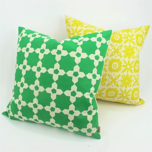 Mosaic Tile Square Cushion
