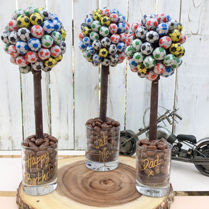 Personalised Football Sweet Tree