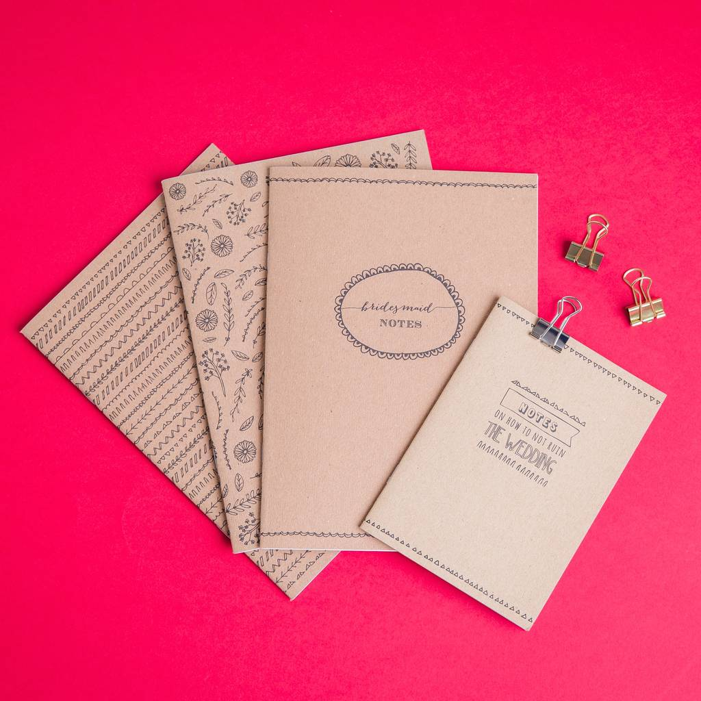 Wedding Planner Gifts: Wedding Planning Notebook Gift Collection By Paper Craze