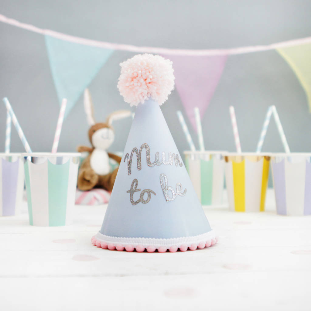 Mums Baby Shower: Mum To Be Baby Shower Party Hat By Postbox Party