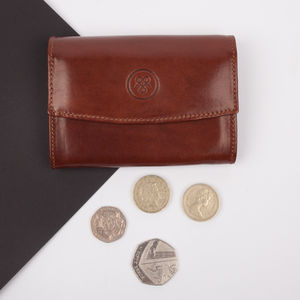Luxury Small Leather Purse. 'The Fontanelle' - purses & wallets
