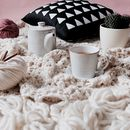 Crochet Your Own Tassel Wool Blanket Throw Kit