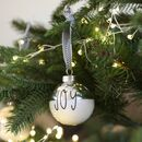 Personalised Metallic Dipped Bauble