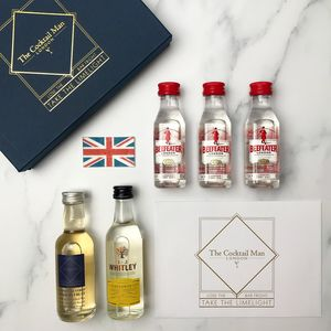 Elderflower Collins Cocktail Kit - gin