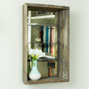 Antique Mirror Crate - mirrors