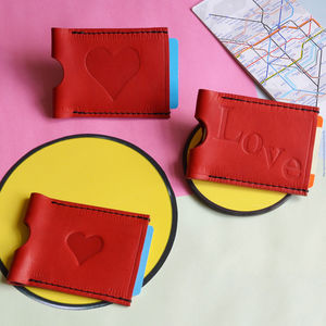 Personalised Symbol Travel Card Holder