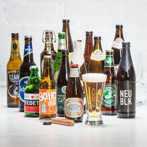 15 Award Winning World Lagers - off to university