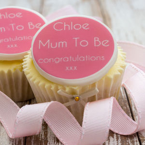 Mum To Be Cupcake Decorations
