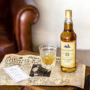 Personalised Single Malt Scotch Whisky And Newspaper