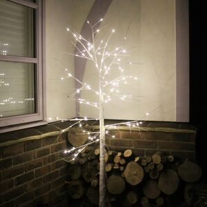 White Birch LED Christmas Tree