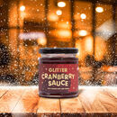 Glitter Cranberry Sauce With Vodka And Orange Zest