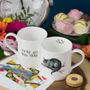 Cheshire Cat Alice In Wonderland Mug
