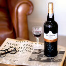 Graham's Lbv Port With Newspaper Gift Set