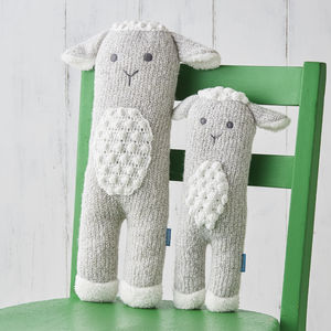 Personalised Easter Lamb Knit Toy - gifts for babies