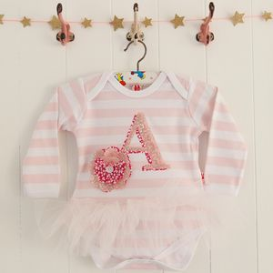 Personalised Baby Tutu Bodysuit