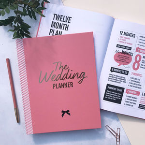 Wedding Planner Notebook And Journal Limited Edition - sale