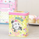 Personalised Retro Kitchen Storage Tin