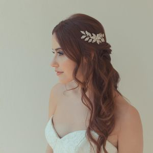 'Petal' Flower Wedding Hair Pin
