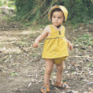 Mustard Arrow Baby Bloomers/ Girls Shorts - clothing