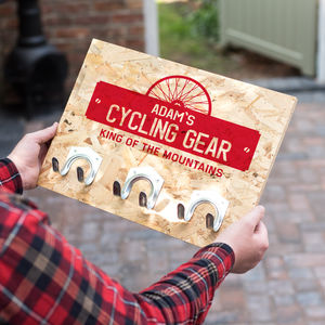 Personalised Bike Hooks - gifts for cyclists