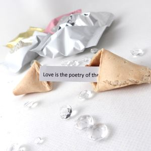 Wedding Fortune Cookies Sample Pack Of Seven - wedding favours