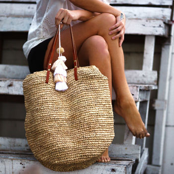 Super cute beach bag-  sand