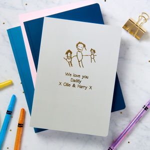 Personalised My Favourite Drawing A5 Notebook