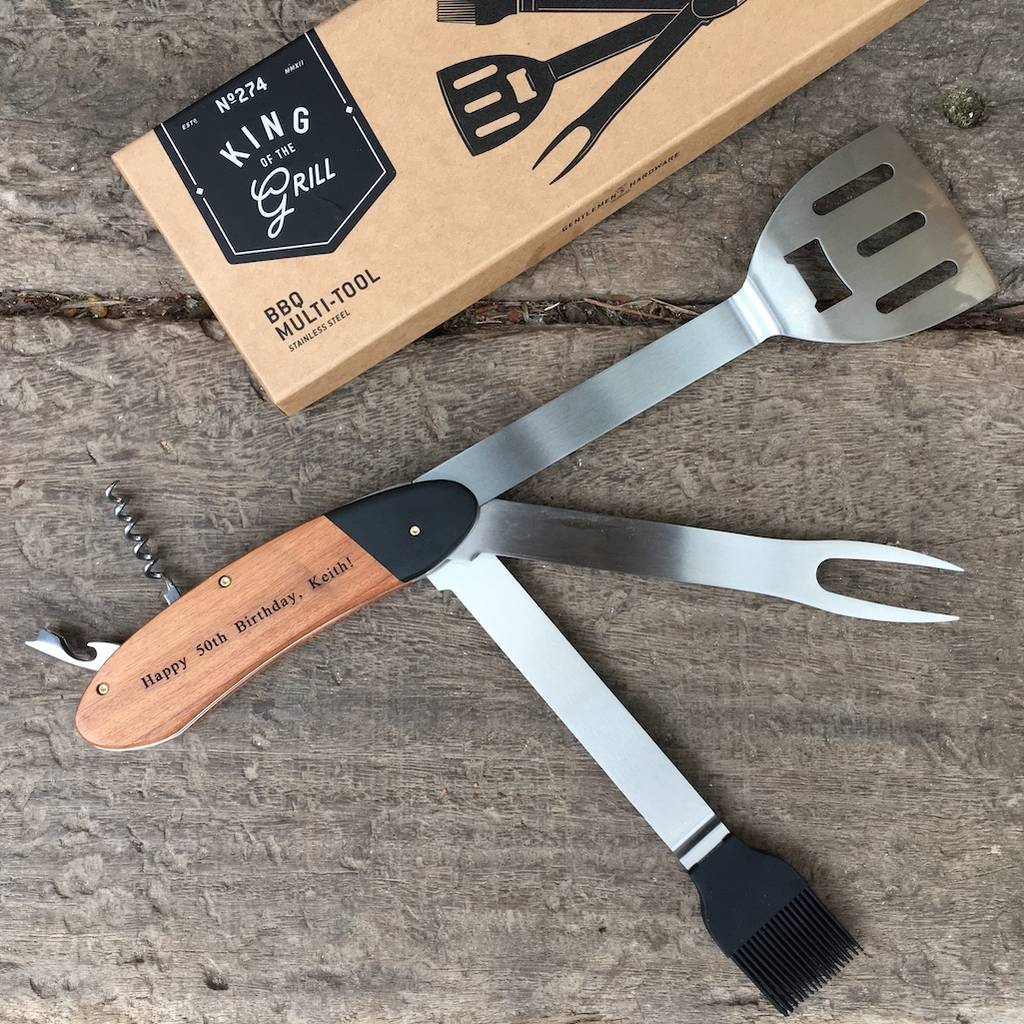 Personalised Bbq Multi Tool