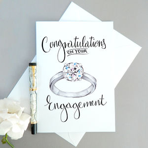 Engagement Card - wedding, engagement & anniversary cards