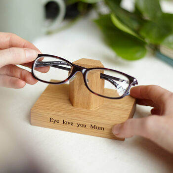 Personalised Glasses Stand For Her