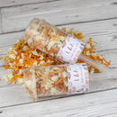 Leaves Personalised Wedding Confetti Pops
