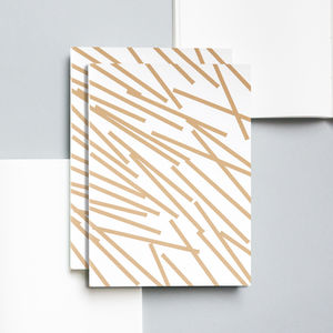 Layflat Lines Notebook