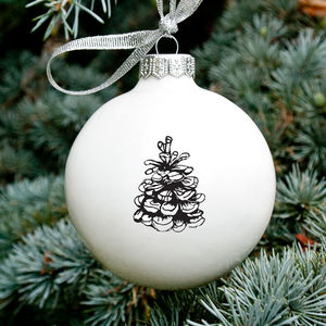 Christmas Ornament With Pine Cone