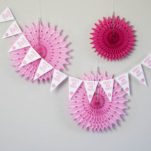 Personalised Hen Party Bunting - decorative accessories