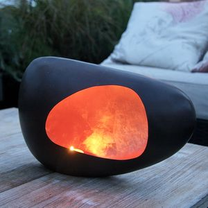 Copper And Bronze Garden Tealight Holder - outdoor lights