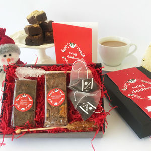 Christmas Afternoon Tea For Two Gift