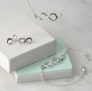 Sterling Silver Infinity Jewellery - jewellery sets
