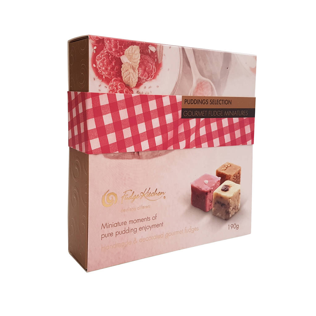 gourmet fudge puddings selection by fudge kitchen ...