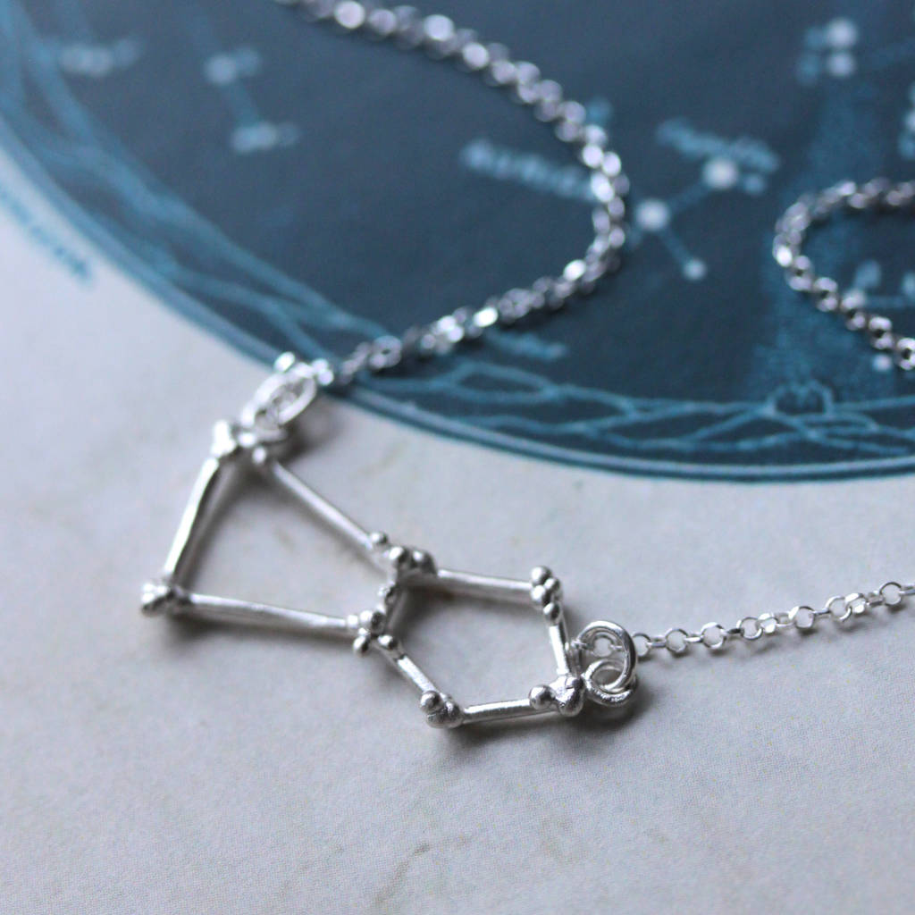 necklace orion celestial views pendant collections more