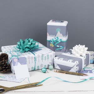 Scandi Wrapping Paper Set - cards & wrap