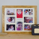 Personalised Baby Memories Multi Picture Frame