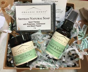 Men's Gift Box From Organic House