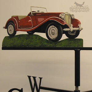 Hand Painted Classic Car Weathervane
