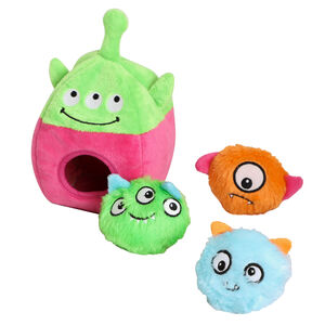 Hide And Seek Alien Interactive Dog Toy