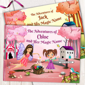 Personalised Keepsake Story Book For Children - books