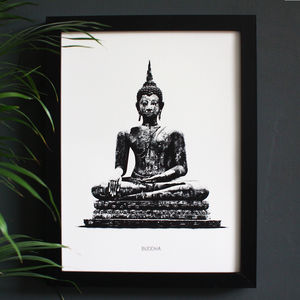 Encyclopaedic Inspired Fine Art Print, Divine Buddha - photography & portraits
