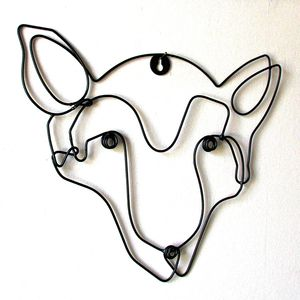Fox Wire Wall Art - winter sale