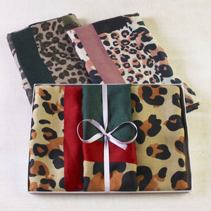Camo Animal Print Scarf - scarves